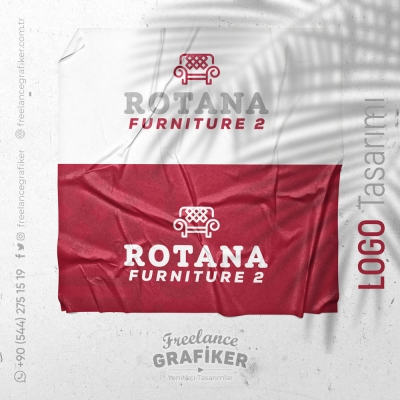 Rotana Furniture Logo Design #freelance #grafiker #logo #design